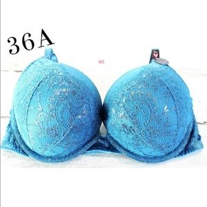 Victoria's Secret Bombshell Push Up Bra Set 36A